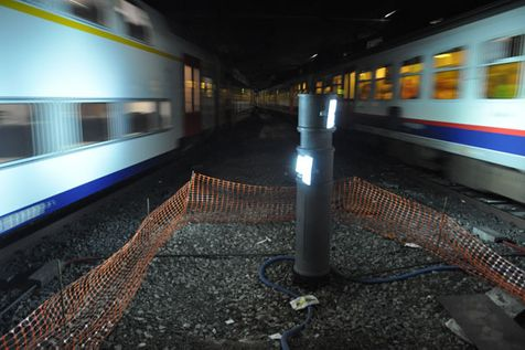 ASE GmbH, Monitoring of train movements for the Belgian railway company Infrabel